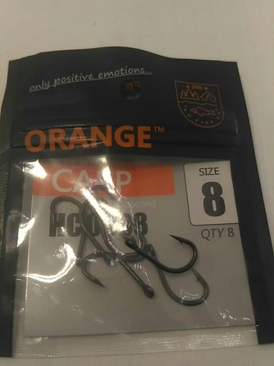 Карповые крючки Orange carp #8