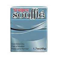 Полимерная глина Souffle Sculpey Синий кантри 48 гр 1 шт, фото 1