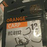 """Гачки для риболовлі ,,Orange carp"""" #12, фото 3"""