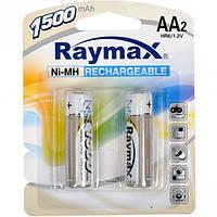Аккумулятор Raymax R-06 (АА) 1500mAh (2 шт. на блистере)