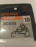 Гачки для риболовлі Orange carp #10, фото 3