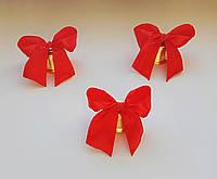 Колокольчики для выпускников, на 1 сентября (d-35mm красная лента)