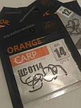 Гачки для риболовлі Orange carp # 14, фото 4
