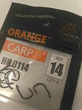 Крючки для рыбной ловли Orange carp # 14