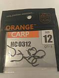 Рибальські гачки Orange carp # 12, фото 3