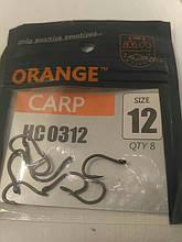 Рыболовные крючки Orange carp # 12