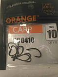 Гачки рибальські Orange carp # 10, фото 3