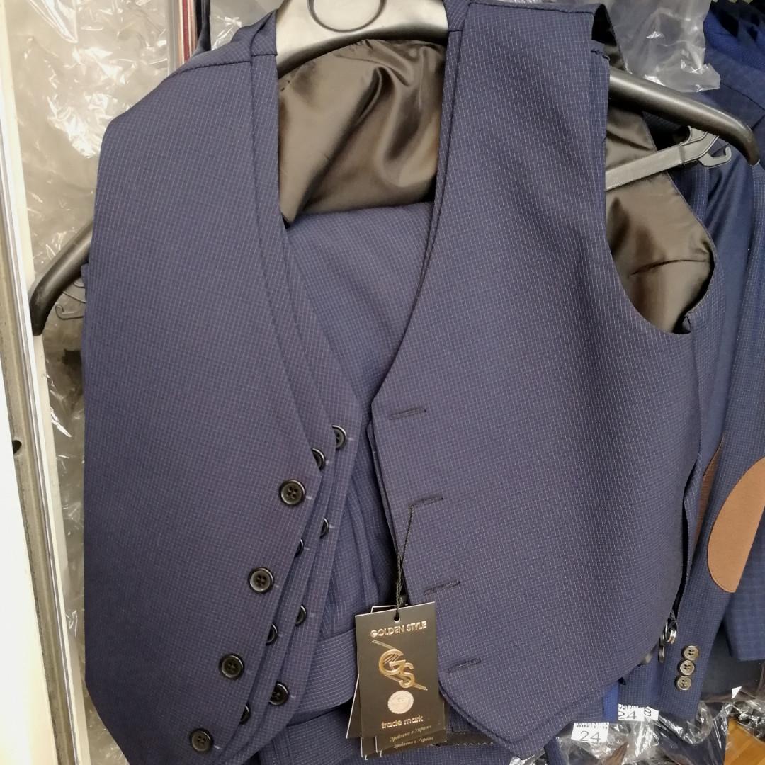 Деловая жилетка к костюму Golden Style, к школьной форме