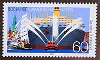 """Германия  """"Корабли"""" 1989 г."""