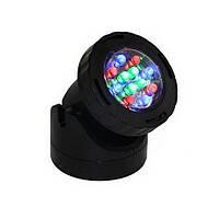 Светильник для пруда AquaFall QL-39 LED RGB Цветной, фото 1