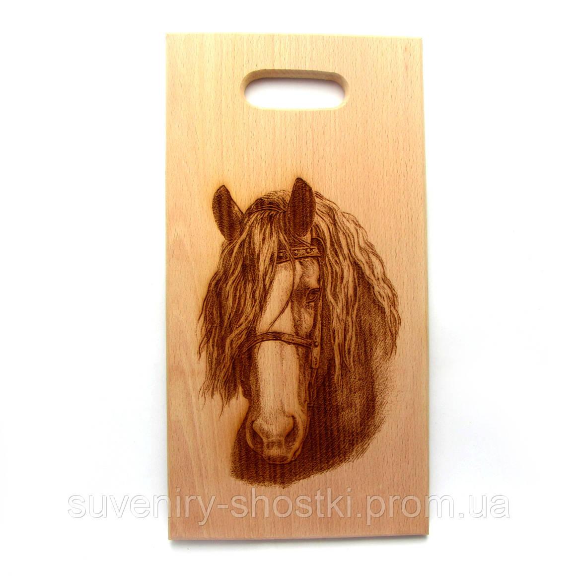 "Кухонная доска "" Лошадь 4 "" 310*175*15мм"