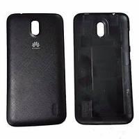 Задня панель корпуса для смартфону Huawei Ascend Y625 чорного кольору