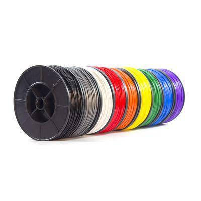 Пластик в котушці ABS 1,75 мм, 0.125кг, набір 8 кольорів,  MonoFilament, фото 2