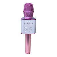 Беспроводной микрофон караоке MicGeek Q9 Karaoke с чехлом Розовый (par_9001)