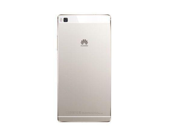 Задняя панель корпуса для смартфона Huawei P8 (GRA L09) бело-золотистого цвета