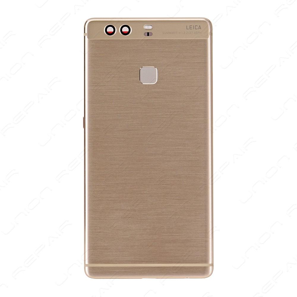 Задня панель корпуса для смартфону Huawei P9 Plus золотистого кольору