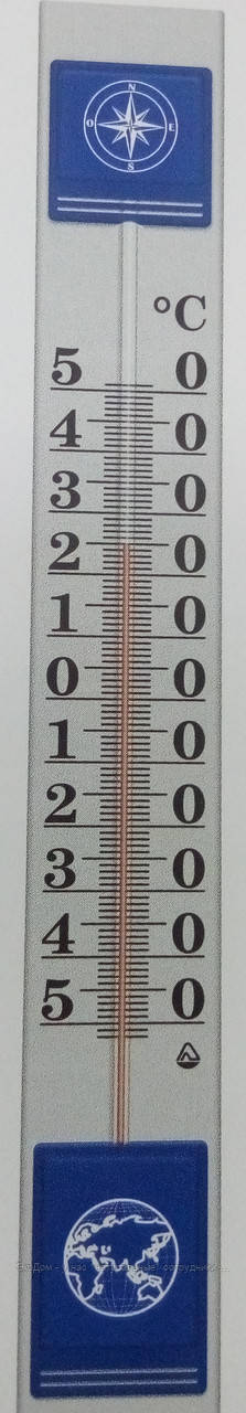 Термометр фасадный большой 1 метр