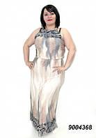 Платье женское длинное, коктейльное батальное платье, большие размеры, разные цвета.