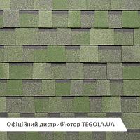Итальянская битумная черепица TEGOLA Premium Liberty  Зеленый камень