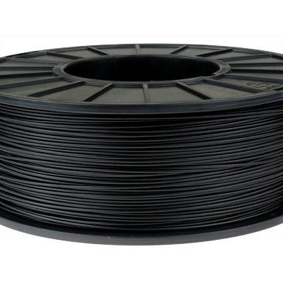 Пластик в котушці ABS 1,75 мм 0.5,  MonoFilament, чорний