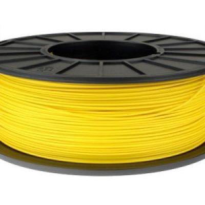 Пластик в котушці ABS 1,75 мм 0.125,  MonoFilament, жовтий