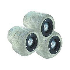 Світильники для ставка у вигляді каменю AquaFall CQD-235C 60W галоген 3x20 W