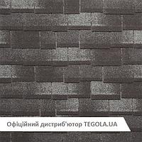 Итальянская битумная черепица TEGOLA Premium Zodchij Темный сланец