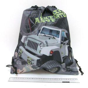 "Сумка для обуви ""JO"" №18155 ""Military jeep"" (39*34)"