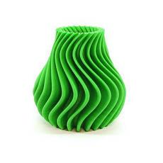 Пластик в котушці ABS 1,75 мм 0.75,  MonoFilament, зелений, фото 2