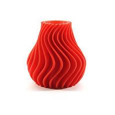Пластик в котушці ABS 1,75 мм 0.75,  MonoFilament, червоний, фото 2