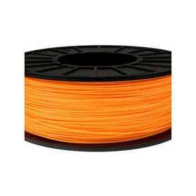 Пластик в котушці ABS 1,75 мм 0.125,  MonoFilament, оранжевий, фото 2