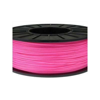 Пластик в котушці ABS 1,75 мм 0.125,  MonoFilament, рожевий