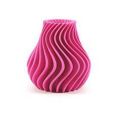 Пластик в котушці ABS 1,75 мм 0.125,  MonoFilament, рожевий, фото 2