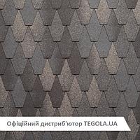 Итальянская битумная черепица TEGOLA Premium Castello  Старый Камень