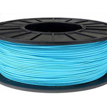 Пластик в котушці ABS 1,75 мм 0.125,  MonoFilament, блакитний