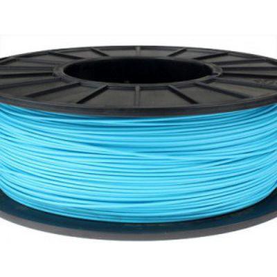 Пластик в котушці ABS 1,75 мм 0.5,  MonoFilament, блакитний