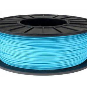 Пластик в котушці ABS 1,75 мм 0.5,  MonoFilament, блакитний, фото 2