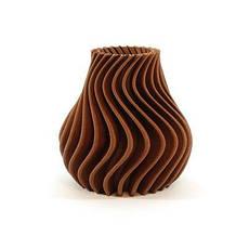 Пластик в котушці ABS 1,75 мм 0.125,  MonoFilament, коричневий, фото 3