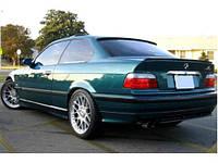 Хром планка над номером BMW 3 E36 (БМВ 3 Е36)