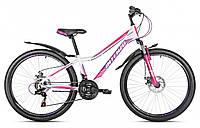 "Велосипед  женский Avanti 26 Intenzo Terra disk рама13"", кол.26"", белор\фиолет\чёрн."