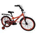 Детский велосипед Crosser Street 20 дюймов оранжевый, фото 2