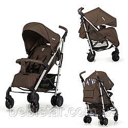 Прогулочная детская коляска-трость CARRELLO Arena CRL-8504 Gold Brown в льне