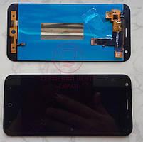 Дисплей модуль ZTE Blade A6/A6 Lite в зборі з тачскріном, чорний