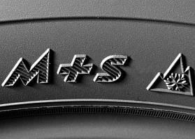 Маркировка зимних шин: M+S и 3PMSF