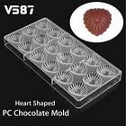 Форма для шоколадних цукерок, Фігурні Сердечка, фото 2