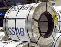 """Тонколистовая рулонная сталь"""" 0,5 мм SSAB"""" с полимерным покрытием ."""