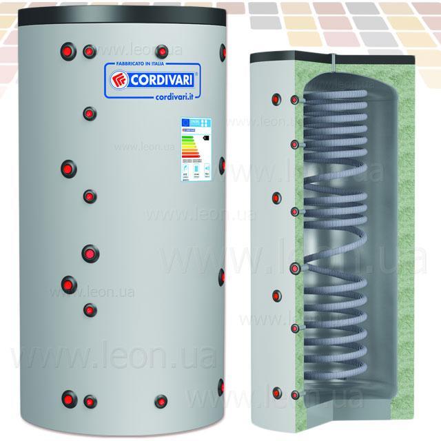 Cordivari буферная ёмкость ECO-COMBI 1 VC 600 INOX