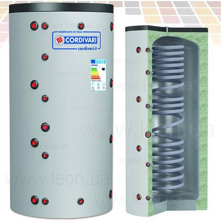 Cordivari буферная ёмкость ECO-COMBI 1 VC 600 INOX , фото 2