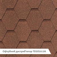 Итальянская Битумная черепица TEGOLA NobileTile West Светло-коричневый