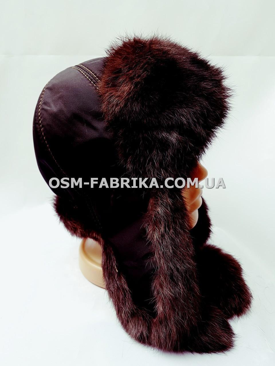 Теплая шапка-ушанка кролик от производителя, фото 1
